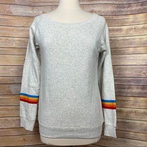 Ocean Drive Rainbow Sweatshirt, size Small